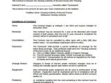 Grass Cutting Contract Template 10 Lawn Service Contract Templates Free Sample Example