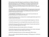 Grass Cutting Contract Template Lawn Service Contract Template with Sample
