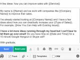 Great Sales Email Templates 5 Cold Email Templates that Actually Get Responses Bananatag