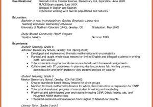 Great Teacher Resumes Samples Resume Objective for Teacher Resume