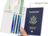 Green Card Name Doesn T Match Passport Famavala Rfid Blocking Case Cover Holder Wallet for Passport