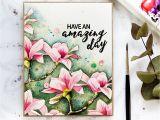Greeting Banana Greeting Card Banana Watercoloured Magnolias with Images Watercolor Flowers