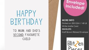 Greeting Card About Happy Birthday Funny Birthday Card for Sibling Happy Birthday to Mum and
