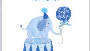 Greeting Card Baby Boy Born New Baby Congratulations In 2020 Congratulations Baby New