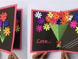Greeting Card Banane Ki Vidhi Very Easy Pop Up Greeting Cards Greeting Card Making New Year Pop Up Greeting Cards Craft