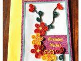 Greeting Card Beautiful Greeting Card Bonitahub Handmade Quilling Birthday Card Buy Online at