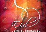 Greeting Card Eid Ul Adha Greeting Card for Eid Ul Adha Celebration Stock