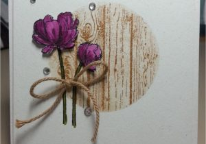 Greeting Card Handmade for Birthday Blooming with Simplicity Floral Cards Greeting Cards