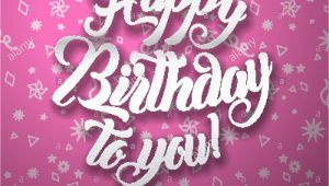Greeting Card Happy Birthday Greeting Card Happy Birthday Greeting Card Background Vector Illustration