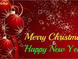 Greeting Card Happy New Year Merry Christmas and Happy New Year Greetings for Everyone