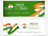 Greeting Card Independence Day Indonesia India Independence Day Vector Template Design for Banner