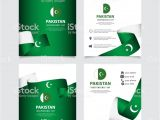 Greeting Card Independence Day Indonesia Pakistan Independence Day Vector Template Design