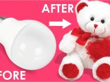 Greeting Card Kaise Banate Hai How to Make Teddy Bear with Cotton Bulb Teddy Bear Making with Cotton