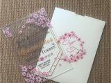 Greeting Card Materi Kelas 8 10pcs Luxury Design Wedding Invitation Card Popular China Wedding Acrylic Card Sample