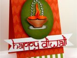 Greeting Card On Diwali Handmade Happy Diwali Card with Images Handmade Diwali Greeting
