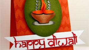 Greeting Card On Diwali Handmade Happy Diwali Card with Images Handmade Diwali Greeting