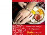 Greeting Card On Raksha Bandhan Happy Raksha Bandhan Greeting Card Love soft Cushion Mug Hamper
