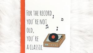 Greeting Card Record Your Own Message Classic Birthday Card Dad Birthday Card by Siyo Boutique