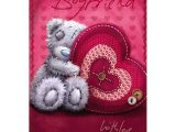 Greeting Card Size In Cm for My Boyfriend Me to You Tatty Teddy Love Partner