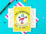 Greeting for Thank You Card Key Workers Thank You Greeting Card