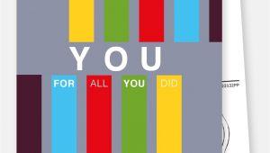 Greeting for Thank You Card Thank You for All You Did Ermutigungskarten Spruche