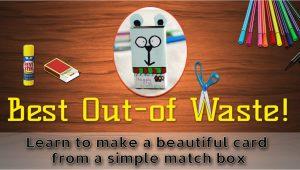Greeting Greeting Card Banane Ka Tarika How to Make A Greeting Card From Waste Material