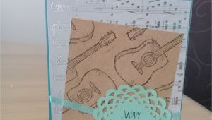 Greeting Music Card for Birthday I Made This Card for My Friends 14th Birthday Perfect Card