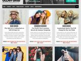 Grid Style Blogger Templates Clean Grid Blogger Template Newbloggerthemes Com