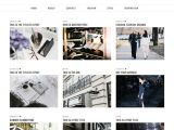 Grid Style Blogger Templates Grid Layout Blogger Template Blogspot Grid theme Pipdig