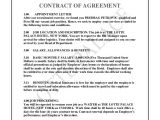Group Contract Template for Hotel the Lotte Palace Hotel Contract Of Agreement Predrag