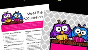 Group Counseling Flyer Template Personalized Counselor Flyers and Signs Guidance Lessons