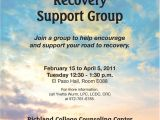 Group Counseling Flyer Template Substance Abuse Support Group Flyer Ccm Projects