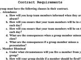 Group Work Contract Template Investigating Authentic Questions Learning In Hand with