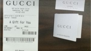 Gucci Receipt Template Gucci Outlet 10 Off