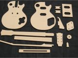 Guitar Router Templates 59 Lp Guitar Router Template Set 1 2 Quot Mdf Cnc Reverb