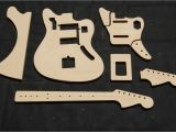 Guitar Router Templates Jaguar Guitar Router Template Set 1 2 Quot Mdf Cnc Reverb