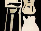 Guitar Templates Uk Telecaster Thinline Guitar Template Set