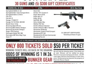 Gun Raffle Flyer Template Raffle Flyer Don 39 T Like the Guns but the Layout Might