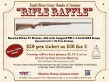 Gun Raffle Flyer Template Rifle Raffle Oct 8 2013 to Jan 29 2014 forsyth
