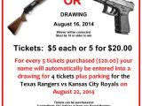 Gun Raffle Flyer Template Turning Point 2014 Gun Raffle