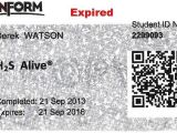 H2s Certification Card Template Uploadwiki Blog