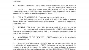 Hairdressing Rent A Chair Contract Template Booth Rental Agreement Hair Salon Relaxed Pinterest