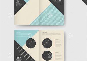 Half Fold Brochure Template Powerpoint Half Fold Brochure Template Word 4 Best and