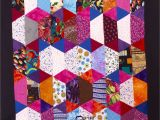 Half Hexagon Quilt Template Free Half Hexagon Quilt Patterns Carols Quilts