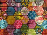 Half Hexagon Quilt Template Half Hexagon Quilt Pattern Www Imgkid Com the Image