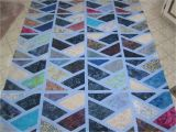 Half Hexagon Quilt Template Sashed Half Hexi Quilt top