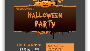 Halloween Email Invite Templates Halloween Party Email Invitations for Apple Mail