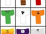 Halloween Treat Boxes Templates 6 Best Images Of Printable Halloween Treat Boxes Free