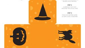 Halloween Treat Boxes Templates Halloween Goodie Box Life Made Simple