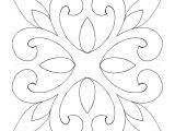 Hand Quilting Designs Templates Best 25 Stencil Patterns Ideas On Pinterest Stencil